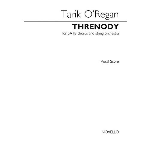 Novello Threnody from Triptych SATB with Piano Composed by Tarik O'Regan thumbnail