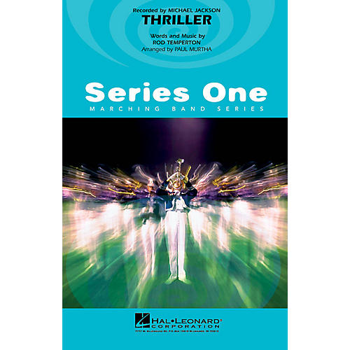 Hal Leonard Thriller Marching Band Level 2 by Michael Jackson Arranged by Paul Murtha thumbnail