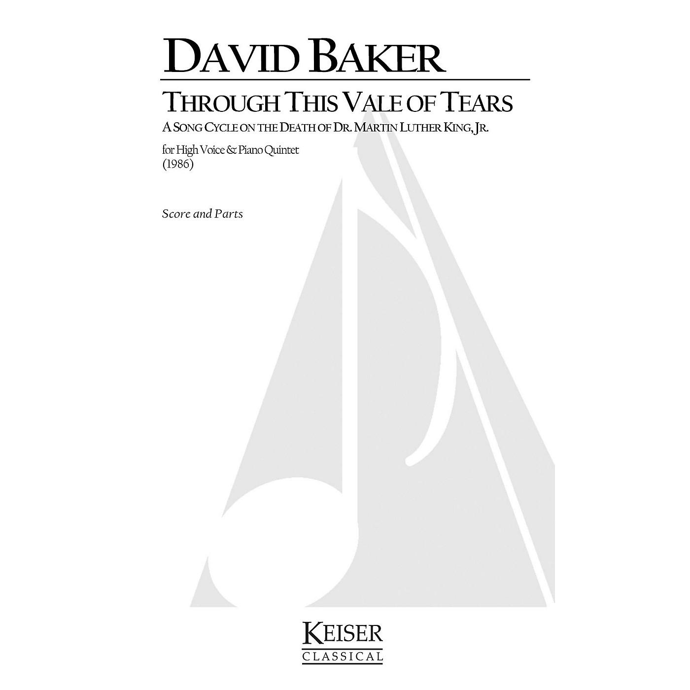 Lauren Keiser Music Publishing Through This Vale of Tears - In Memoriam: Martin Luther King, Jr. LKM Music Series by David Baker thumbnail