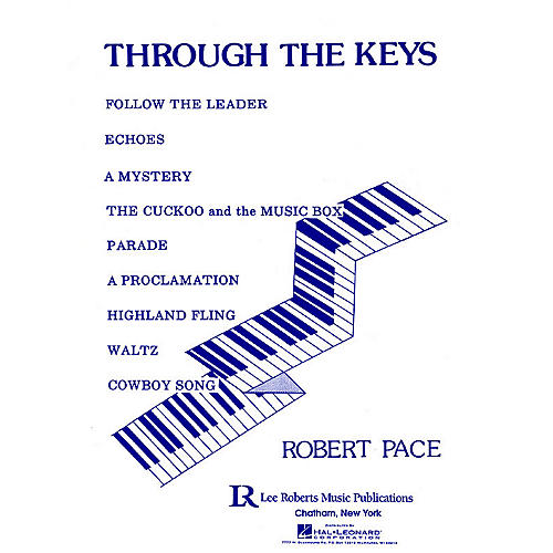 Lee Roberts Through the Keys (Level 1) Pace Piano Education Series thumbnail
