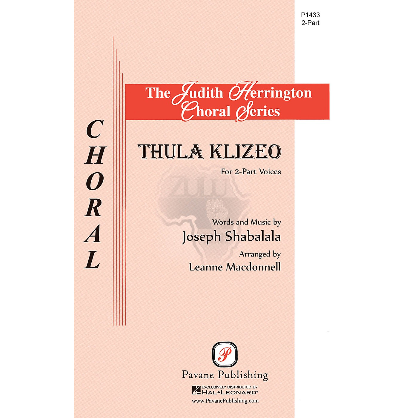 Pavane Thula Klizeo 2-Part arranged by Leanne McDonnell thumbnail