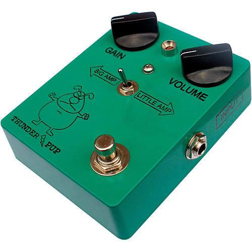 Bigfoot Thunder Pup Overdrive Effects Pedal thumbnail