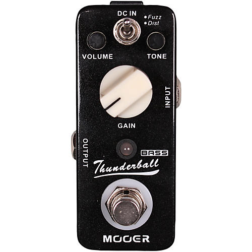 Mooer Thunderball Micro Fuzz & Distortion Bass Guitar Effects Pedal thumbnail