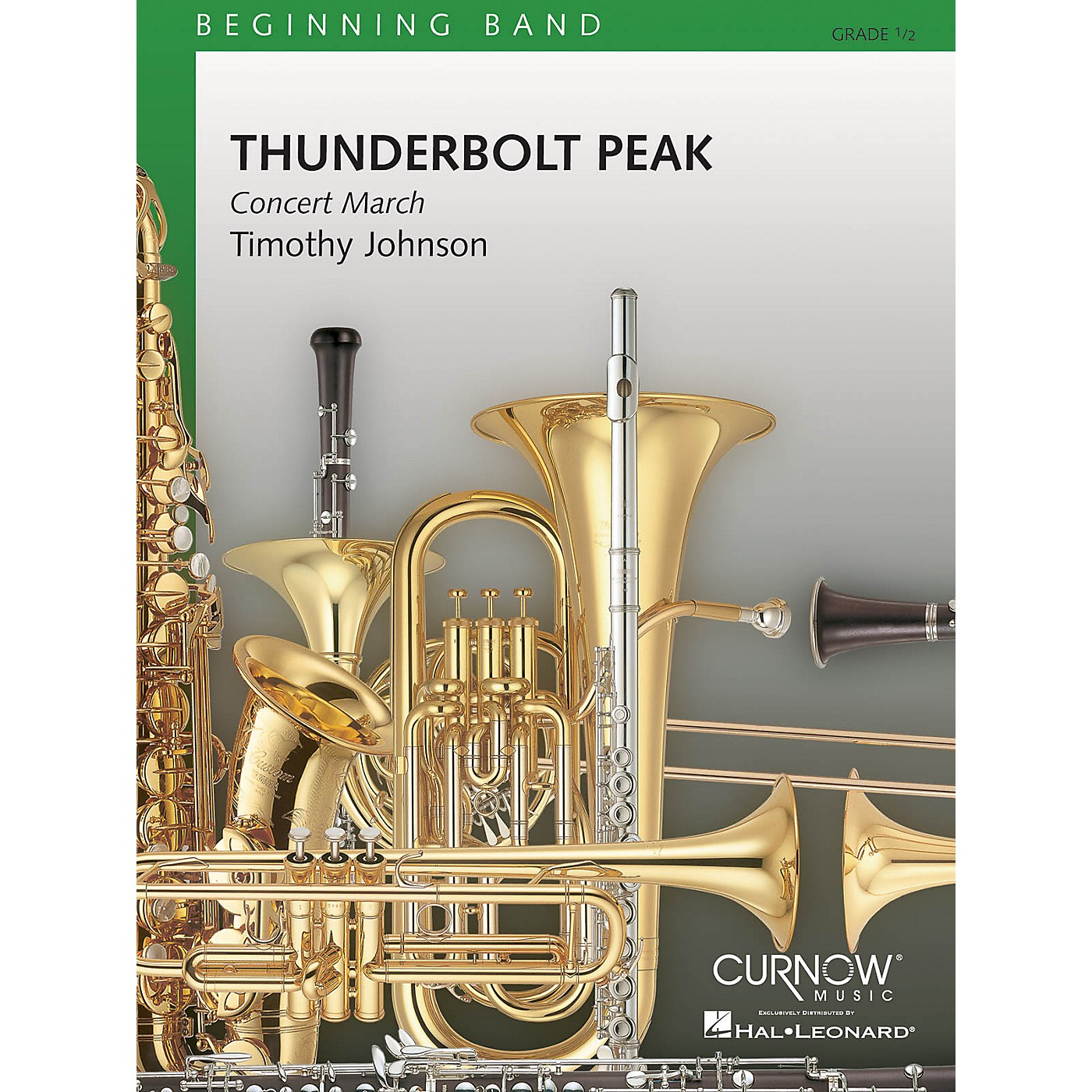 Curnow Music Thunderbolt Peak (Concert March) (Grade 0.5 - Score and Parts) Concert Band Level .5 by Timothy Johnson thumbnail