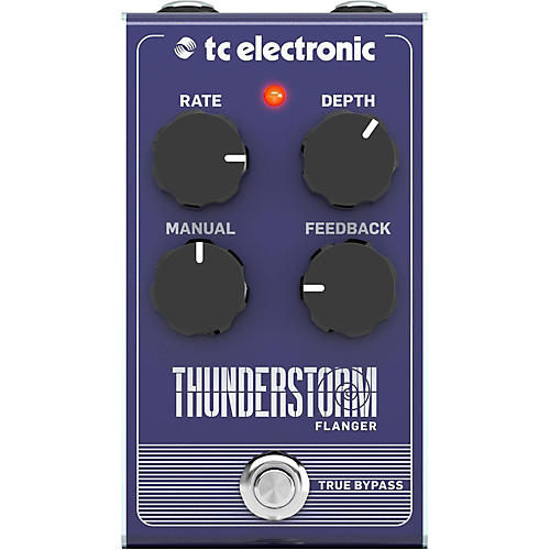 TC Electronic Thunderstorm Flanger Effect Pedal thumbnail
