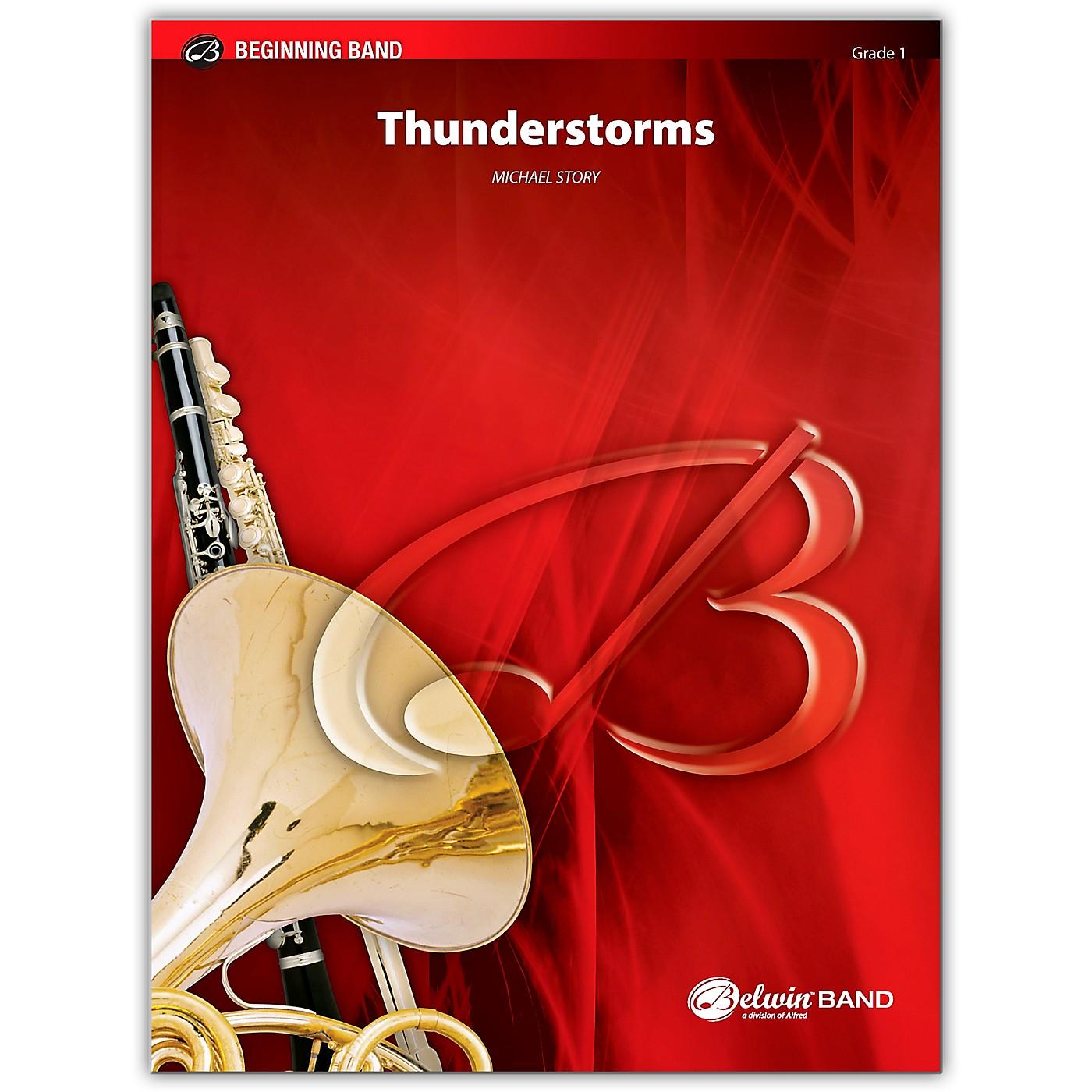 Alfred Thunderstorms Concert Band Grade 1 Set thumbnail