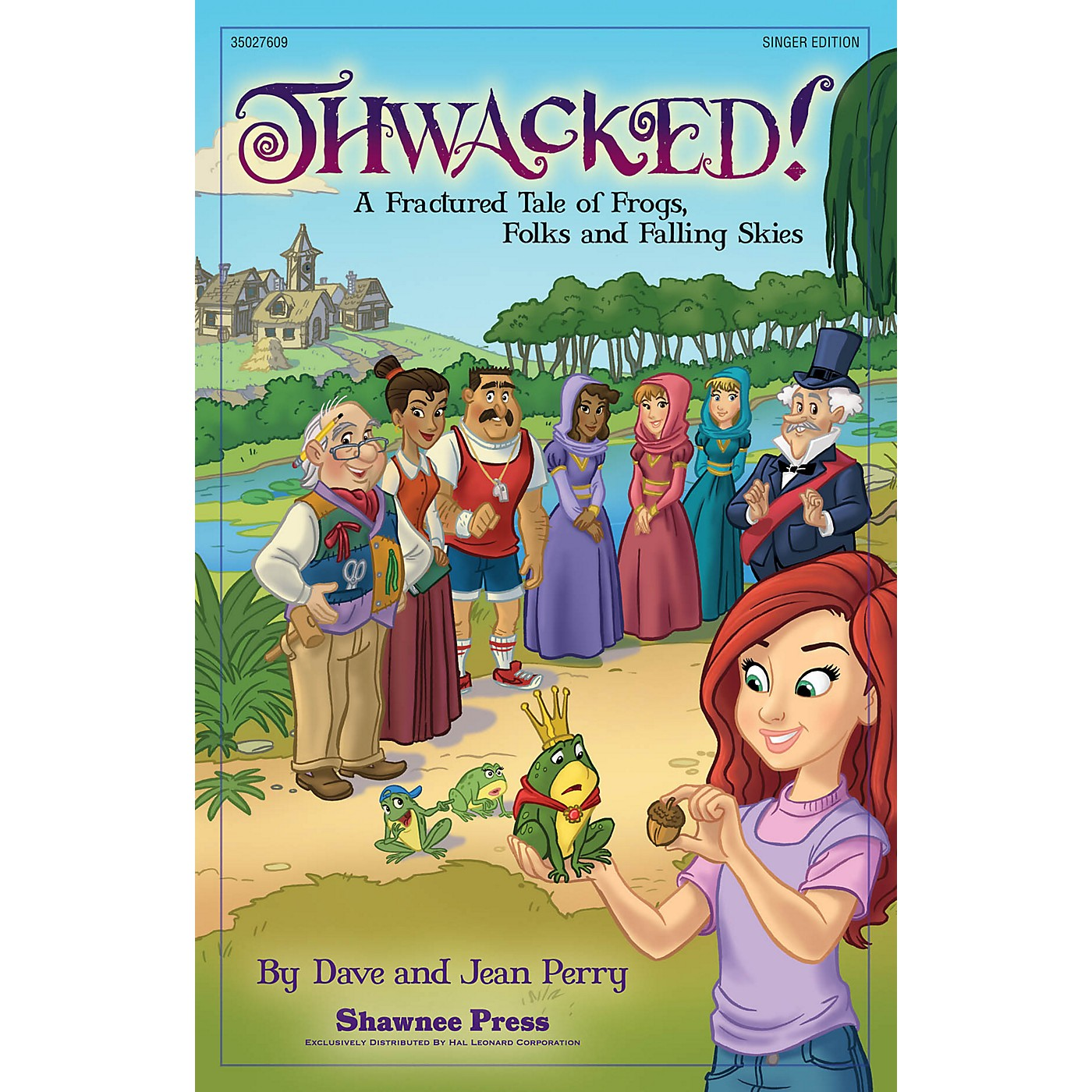 Shawnee Press Thwacked! (A Fractured Fable of Frogs, Folks and Falling Skies) Singer 5 Pak Composed by Dave Perry thumbnail