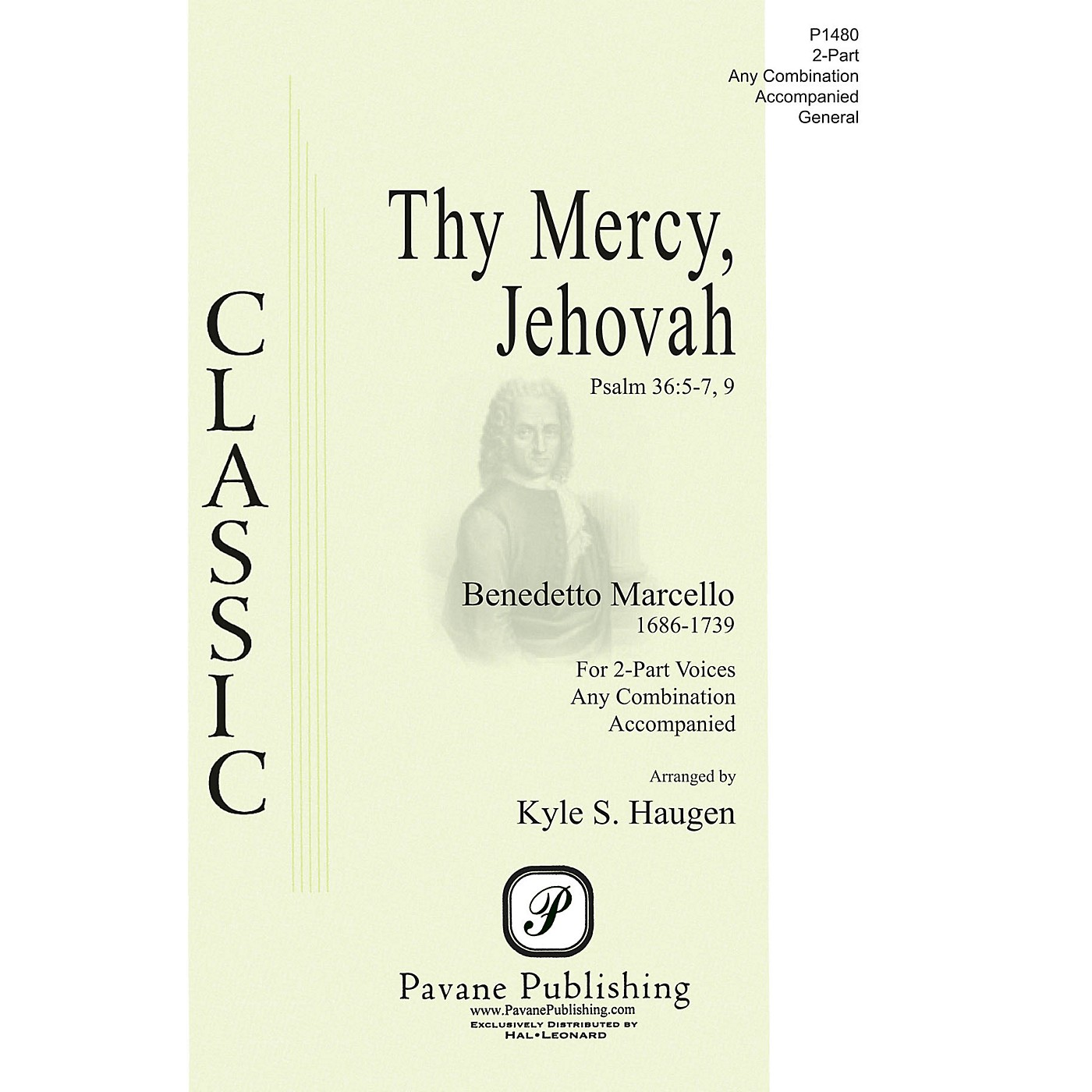 Pavane Thy Mercy, Jehovah 2-Part any combination arranged by Kyle Haugen thumbnail