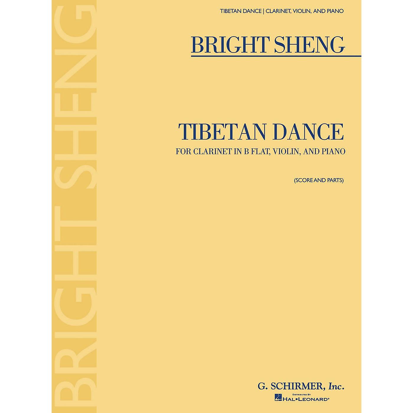 G. Schirmer Tibetan Dance (Violin, Clarinet in B-Flat, Piano) Ensemble Series Composed by Bright Sheng thumbnail