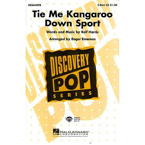 Hal Leonard Tie Me Kangaroo Down Sport 2-Part arranged by Roger Emerson thumbnail