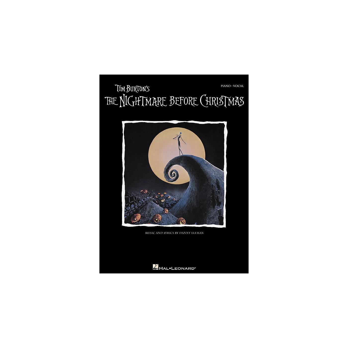 Hal Leonard Tim Burton's the Nightmare Before Christmas thumbnail