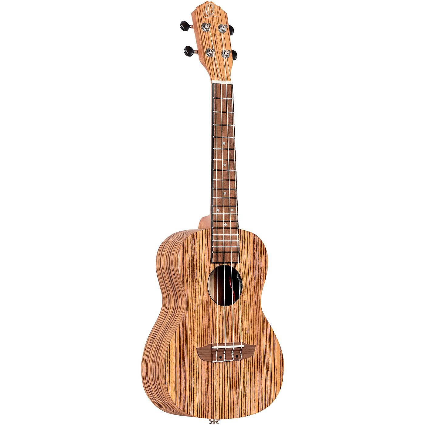 Ortega Timber Series RFU11ZE-L Left-Handed Acoustic Electric Concert Ukulele thumbnail