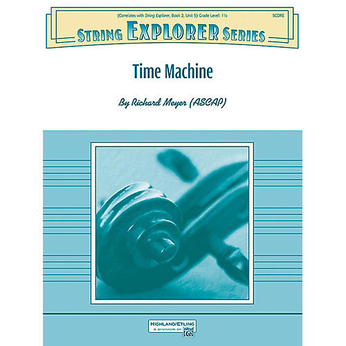 Alfred Time Machine String Orchestra Grade 1.5 thumbnail