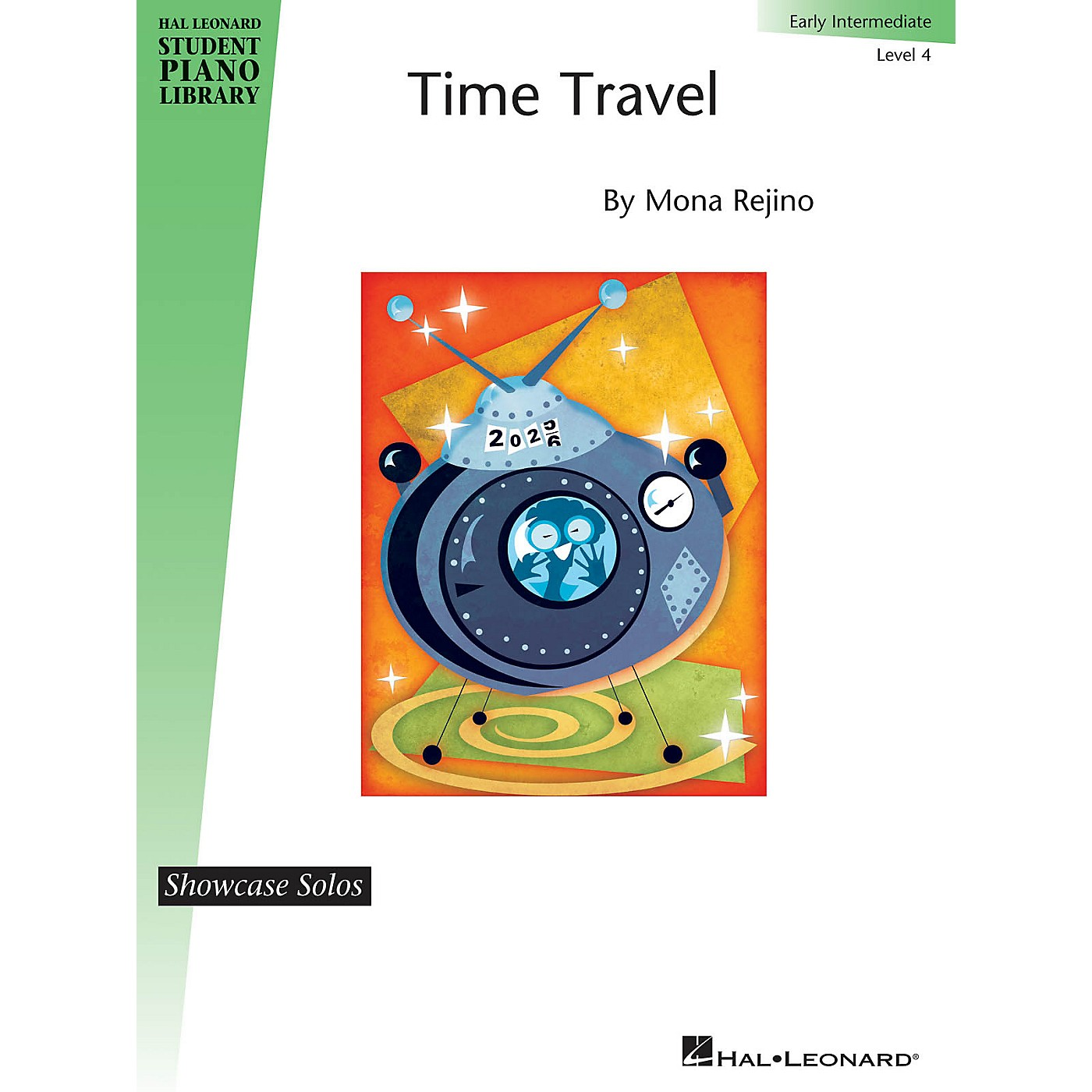 Hal Leonard Time Travel Piano Library Series by Mona Rejino (Level Early Inter) thumbnail