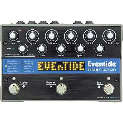 Eventide TimeFactor Twin Delay Guitar Effects Pedal thumbnail