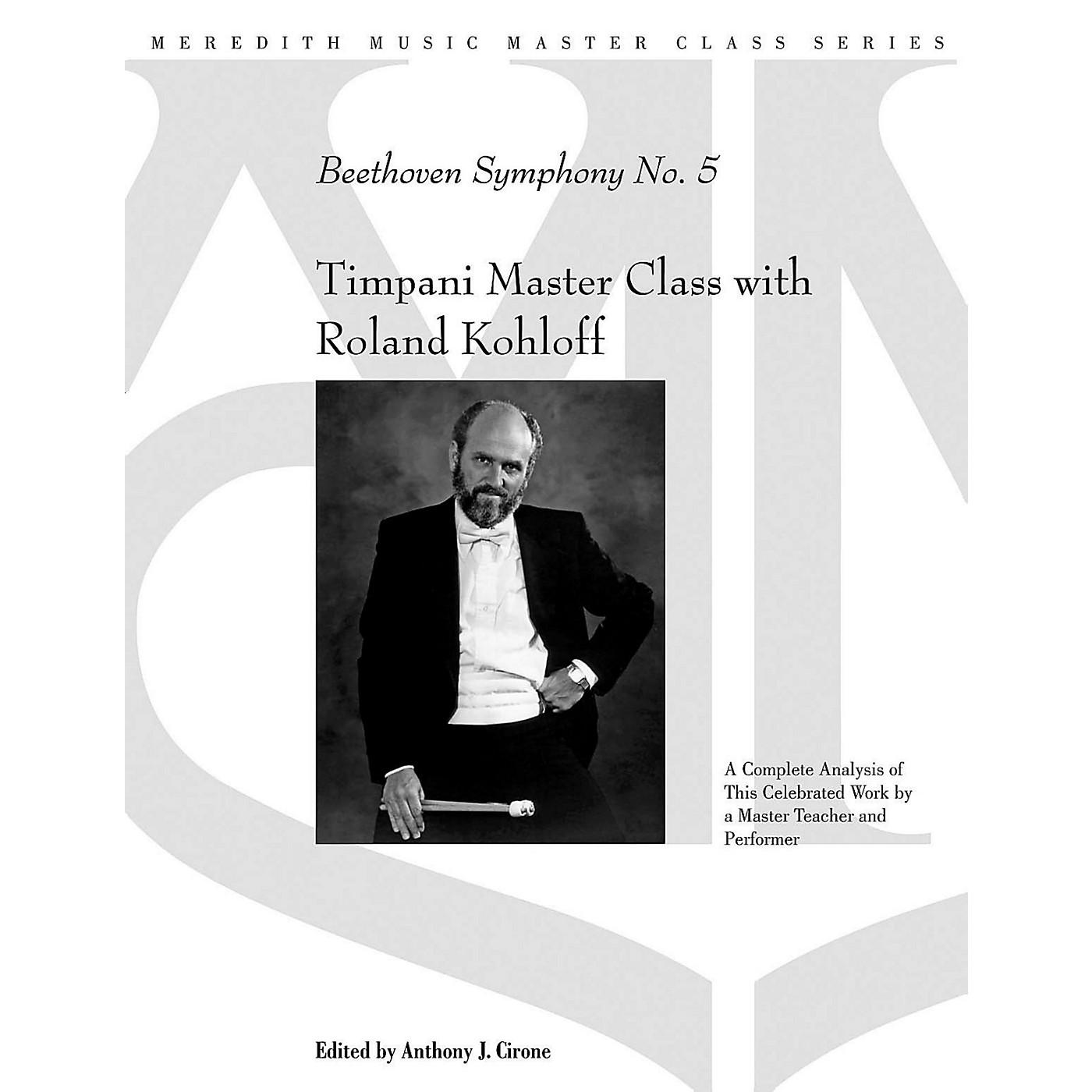 Meredith Music Timpani Master Class With Roland Kohloff - Beethoven Symphony No.5 thumbnail