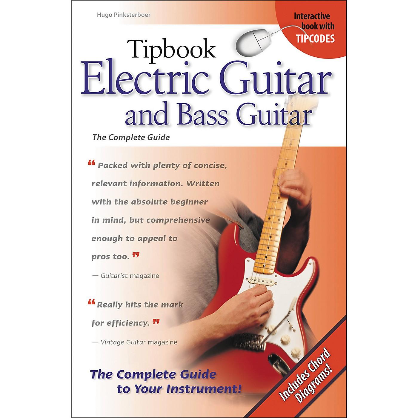 Hal Leonard Tipbook - Electric Guitar & Bass Guitar thumbnail