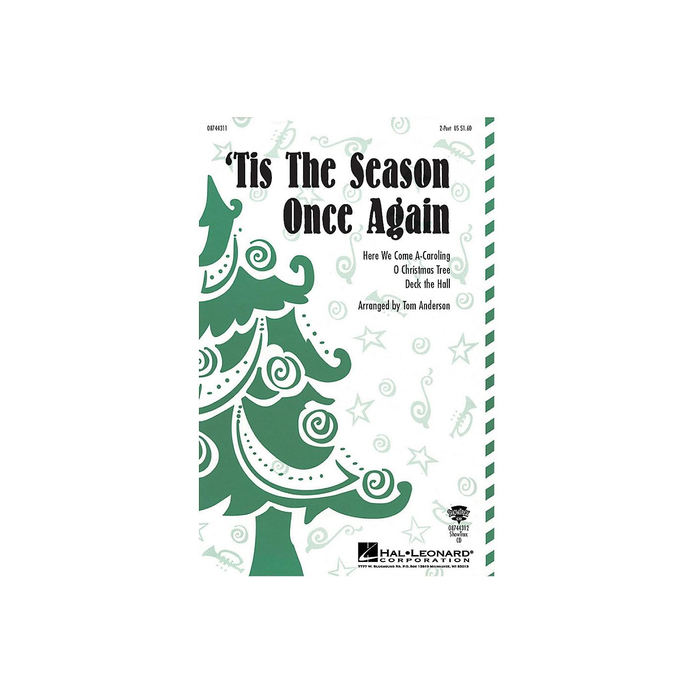 Hal Leonard 'Tis the Season Once Again ShowTrax CD thumbnail
