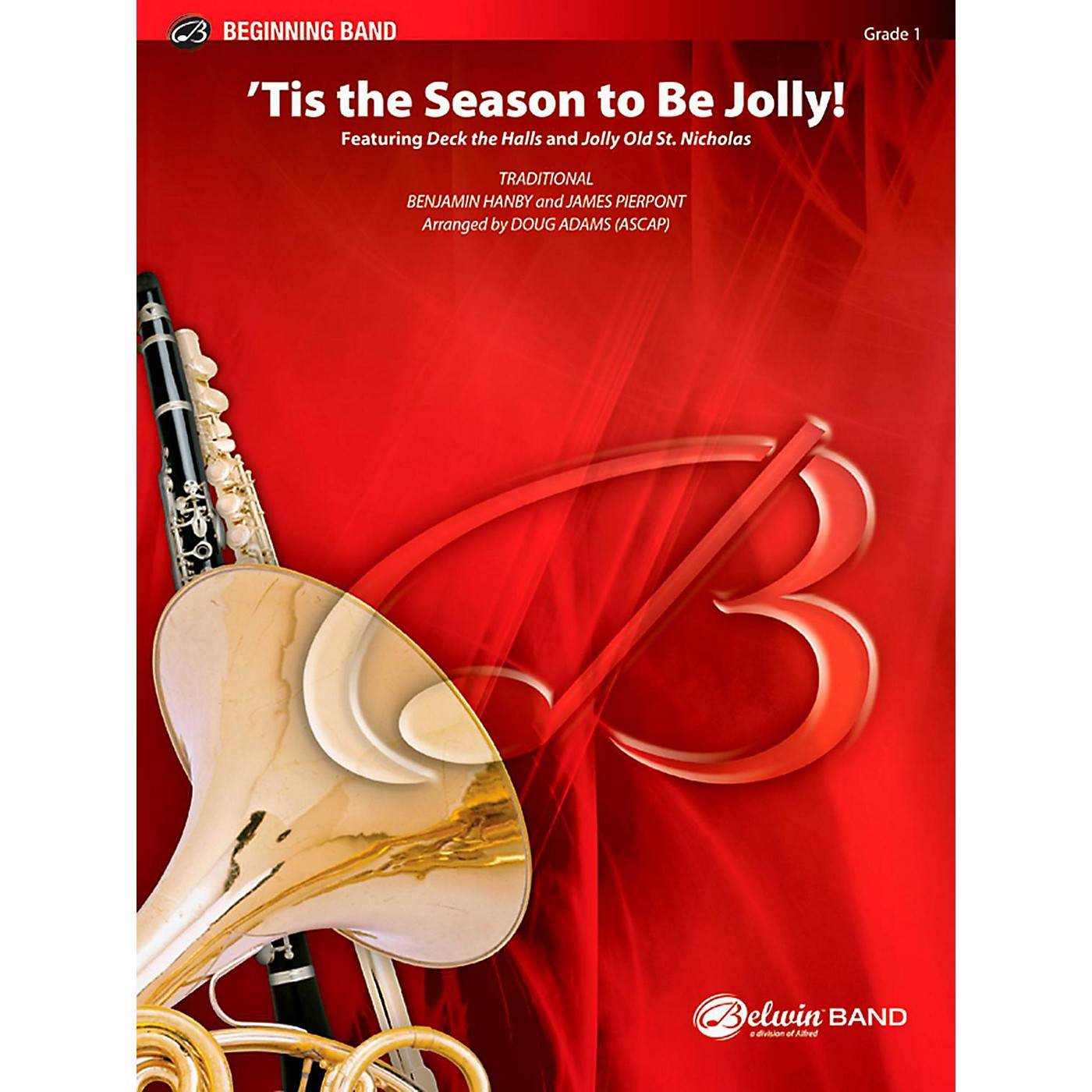 BELWIN Tis the Season to Be Jolly! Concert Band Grade 1 (Very Easy) thumbnail