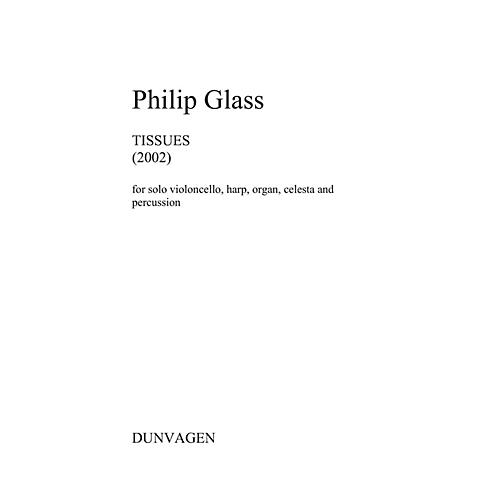 Dunvagen Tissues (Set of Performance Scores) Music Sales America Series Softcover by Philip Glass thumbnail