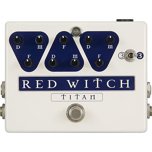 Red Witch Titan Delay Guitar Effects Pedal-thumbnail