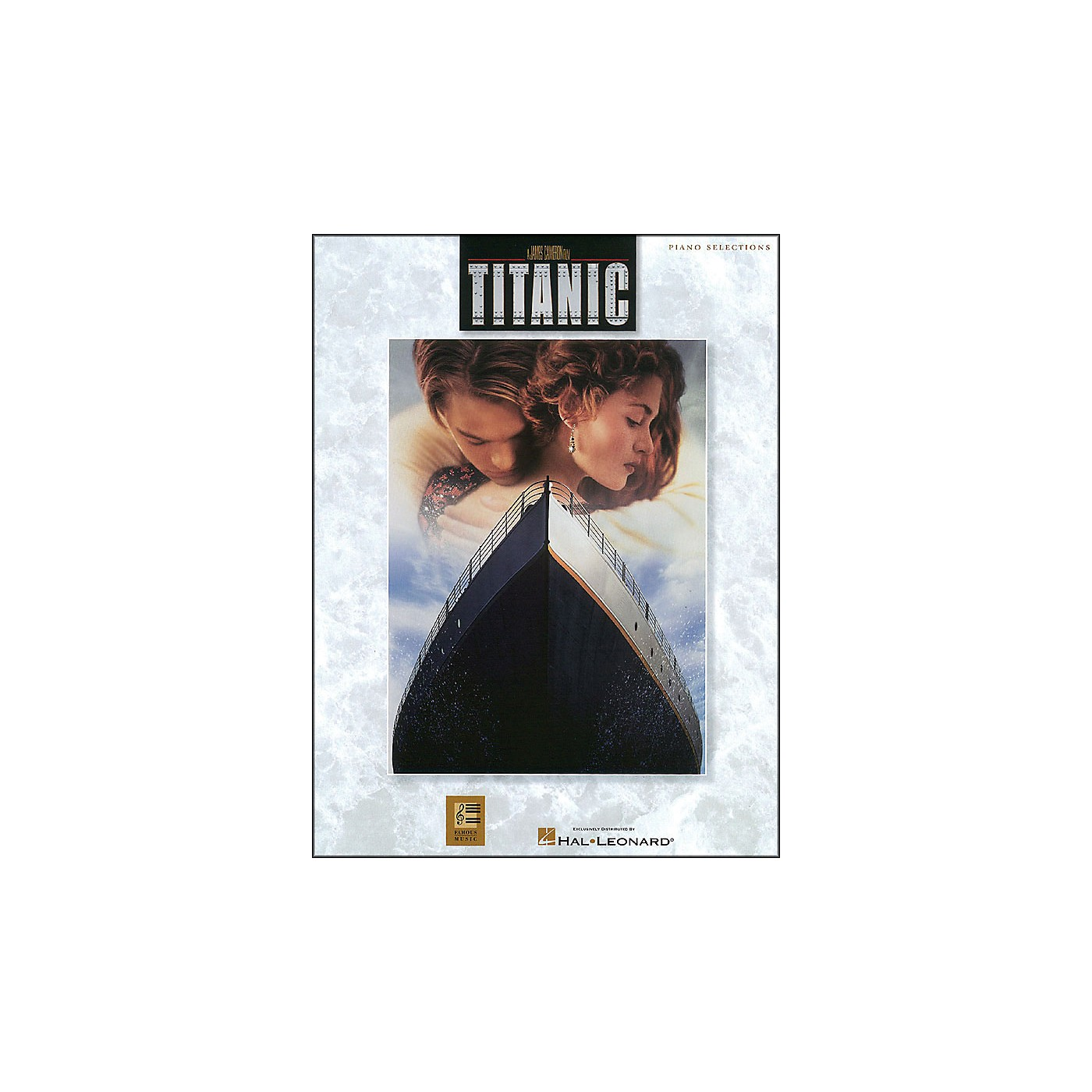 Hal Leonard Titanic Movie Selections arranged for piano, vocal, and guitar (P/V/G) thumbnail