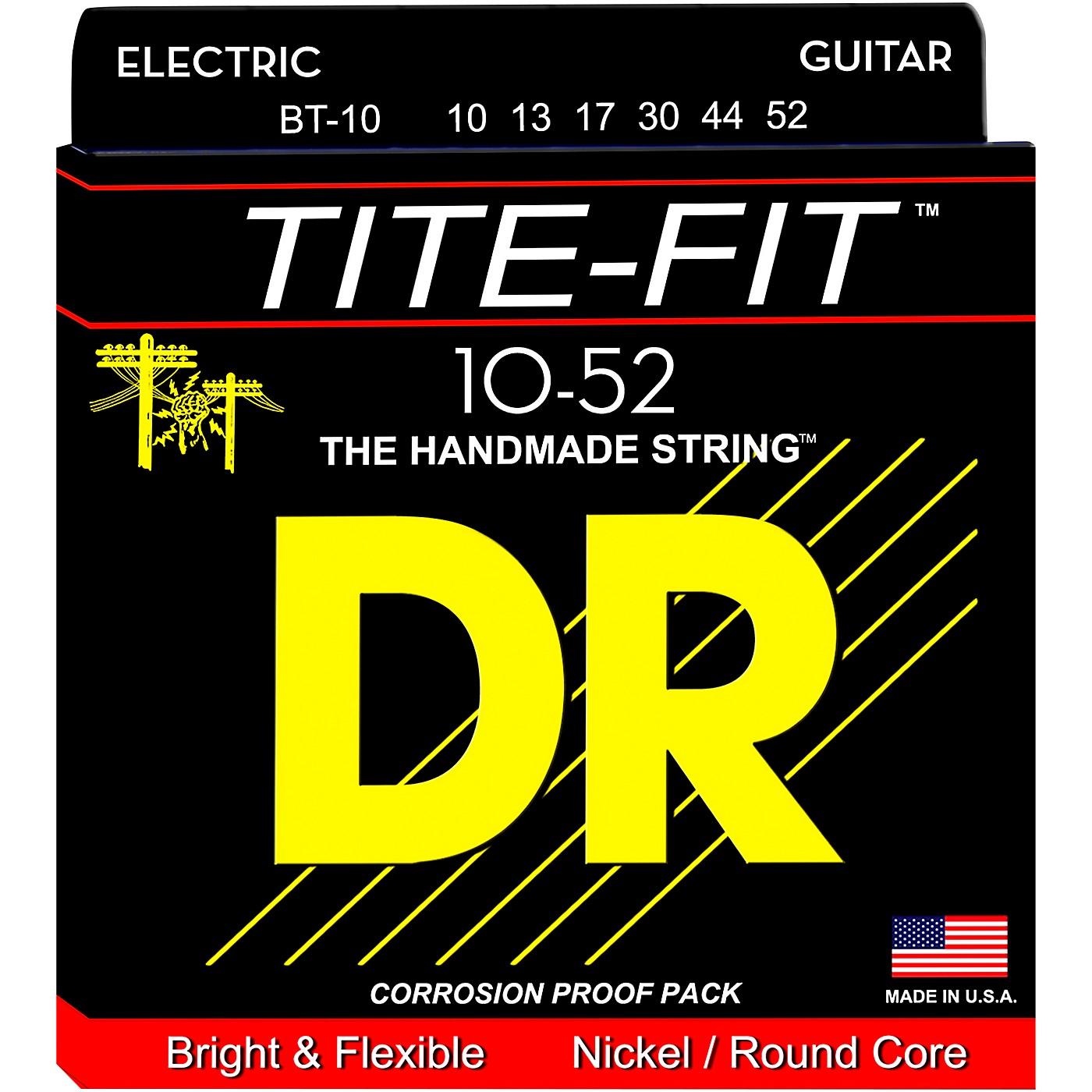 DR Strings Tite-Fit BT-10 Big-n-Heavy Electric Guitar Strings thumbnail