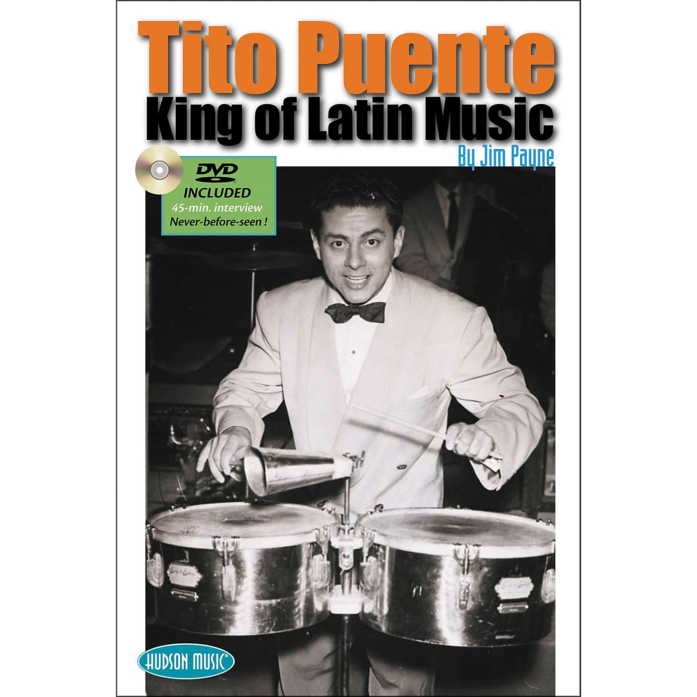 Hudson Music Tito Puente - King of Latin Music Book with DVD thumbnail