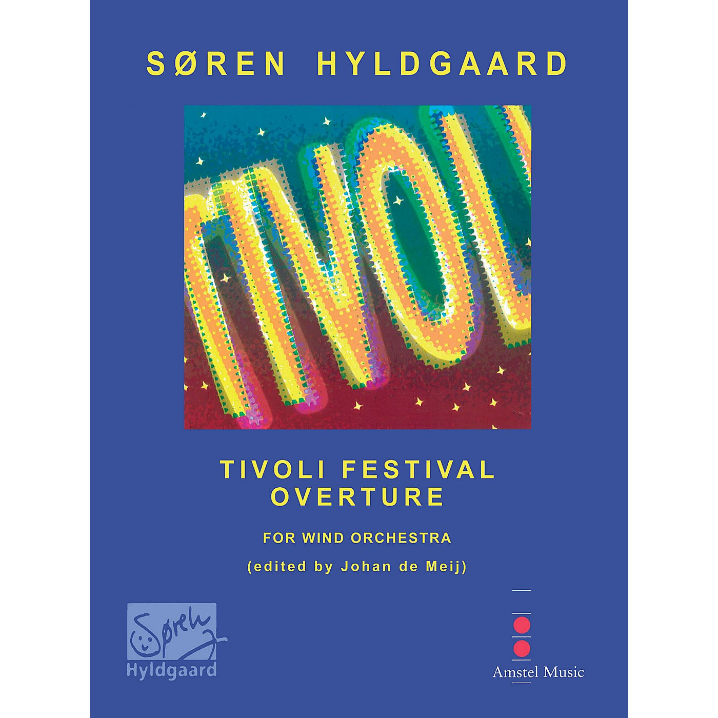 Amstel Music Tivoli Festival Overture (Score with CD) Concert Band Level 3-4 Composed by Soren Hyldgaard thumbnail