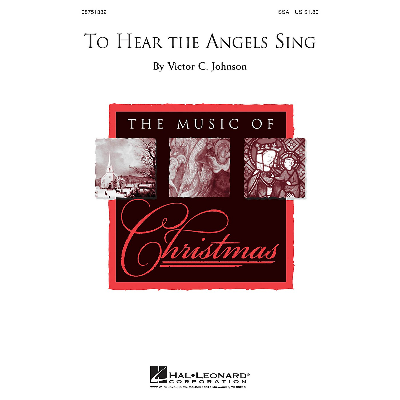 Hal Leonard To Hear the Angels Sing SSA composed by Victor C. Johnson thumbnail
