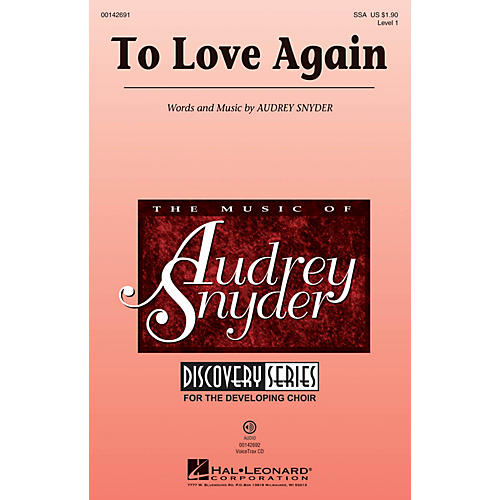 Hal Leonard To Love Again (Discovery Level 1) VoiceTrax CD Composed by Audrey Snyder thumbnail