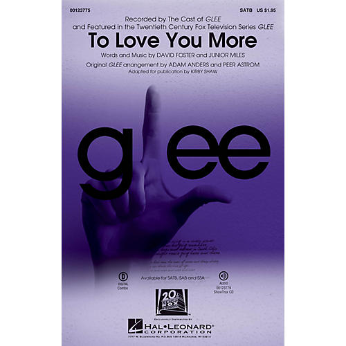 Hal Leonard To Love You More SATB thumbnail