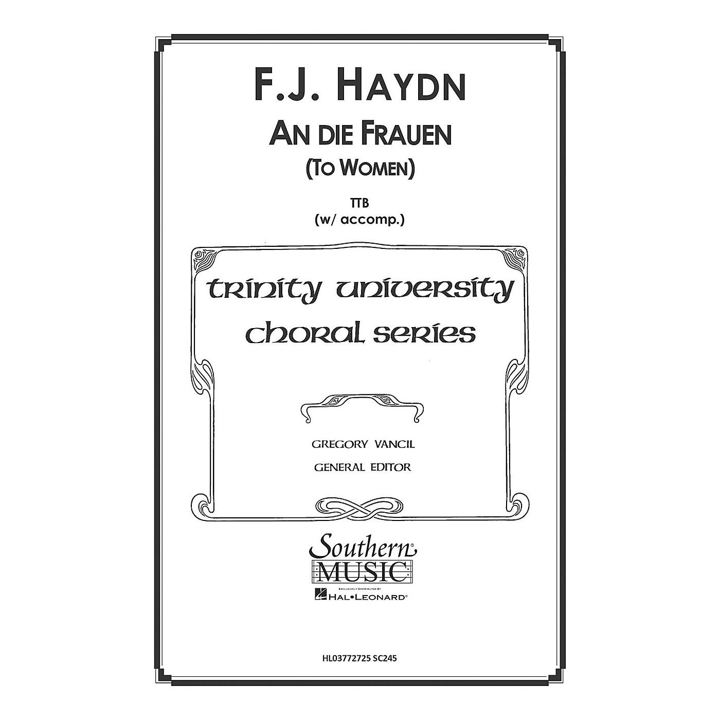 Hal Leonard To Women ( An Die Frauen) (Choral Music/Octavo Secular Ttb) TTB Arranged by Gregory Vancil thumbnail