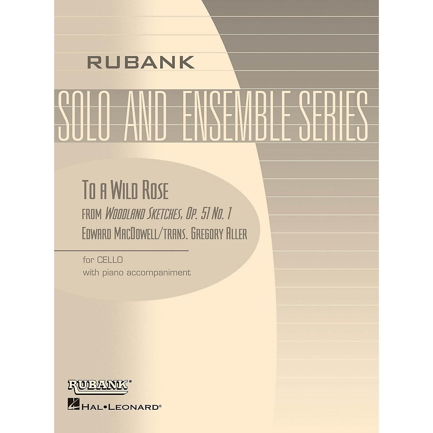Rubank Publications To a Wild Rose, Op. 51, No. 1 Rubank Solo/Ensemble Sheet Series Arranged by G. Aller thumbnail