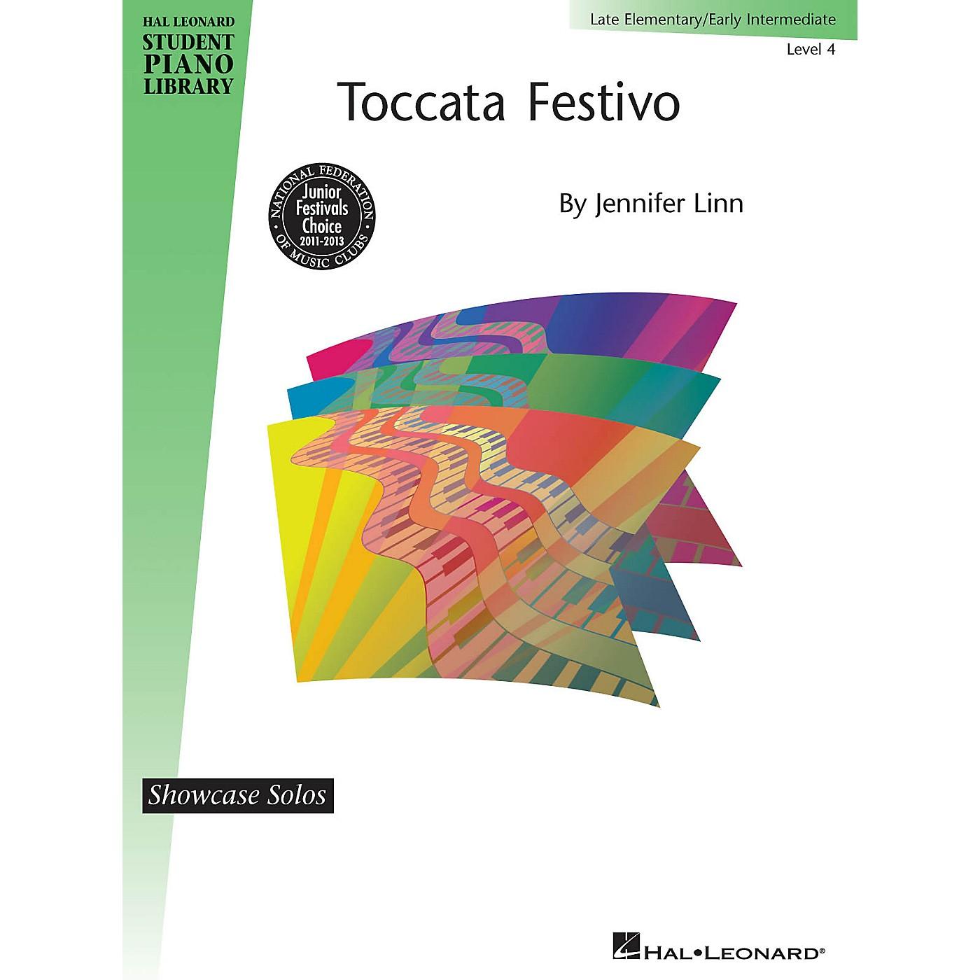 Hal Leonard Toccata Festivo Piano Library Series by Jennifer Linn (Level Early Inter) thumbnail