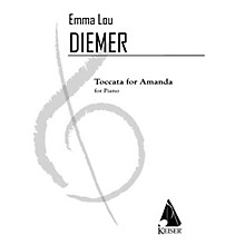 Lauren Keiser Music Publishing Toccata for Amanda: an Homage to the Minimalists and Vivaldi for Piano LKM Music by Emma Lou Diemer