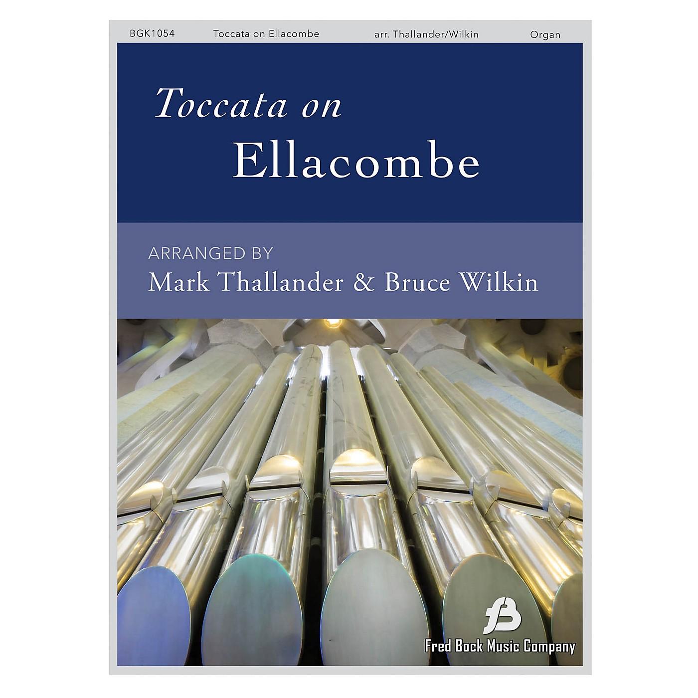 Fred Bock Music Toccata on Ellacombe Organ Solo arranged by Mark Thallander thumbnail
