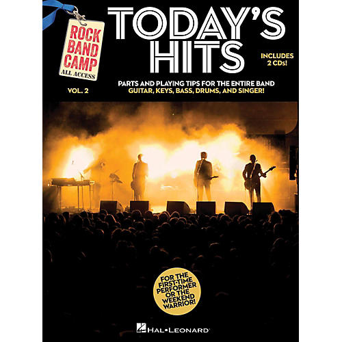 Hal Leonard Today's Hits - Rock Band Camp Vol. 2 (Book/2-CD Pack) Vocal, Guitar, Keys, Bass, Drums thumbnail