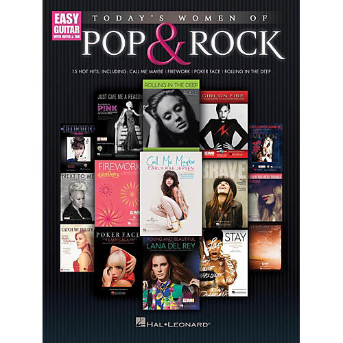 Hal Leonard Today's Women Of Pop & Rock (Easy Guitar With Tab) thumbnail