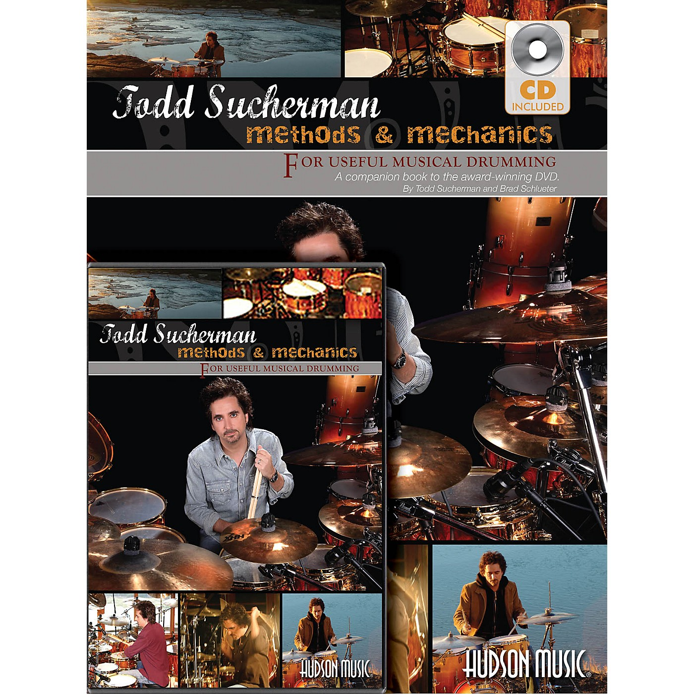 Hudson Music Todd Sucherman - Methods & Mechanics DVD Series Softcover with DVD Written by Todd Sucherman thumbnail