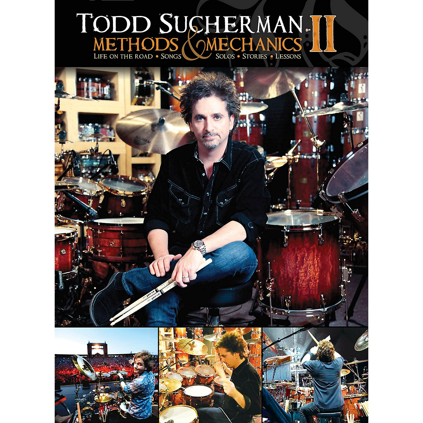 Hudson Music Todd Sucherman Methods & Mechanics II 2-DVD Set thumbnail