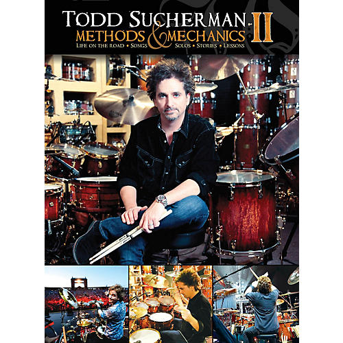 Hudson Music Todd Sucherman Methods & Mechanics II 2-DVD Set-thumbnail