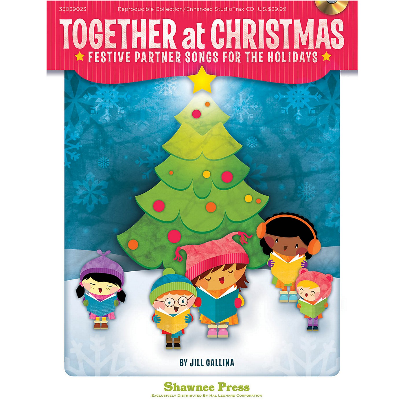 Hal Leonard Together At Christmas - Festive Partner Songs For The Holidays Book/Listening CD thumbnail