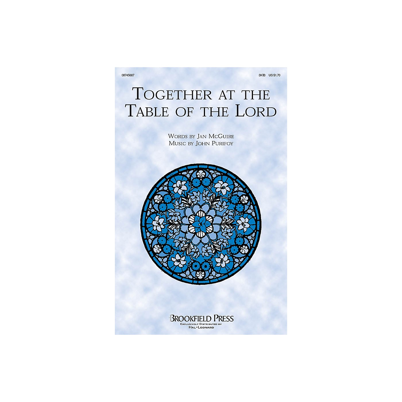 Brookfield Together at the Table of the Lord SATB composed by John Purifoy thumbnail