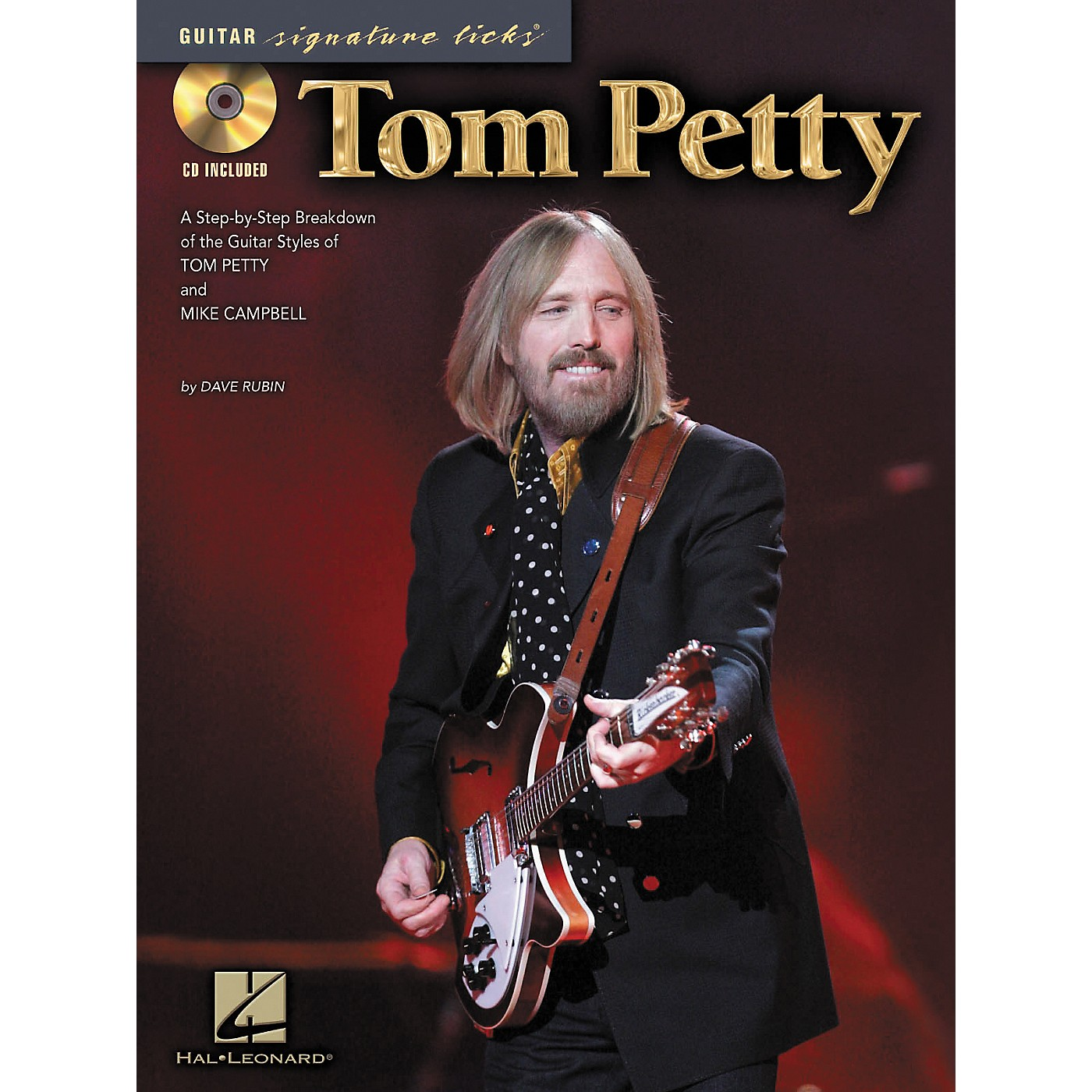Hal Leonard Tom Petty - Guitar Signature Licks (Book/CD) thumbnail