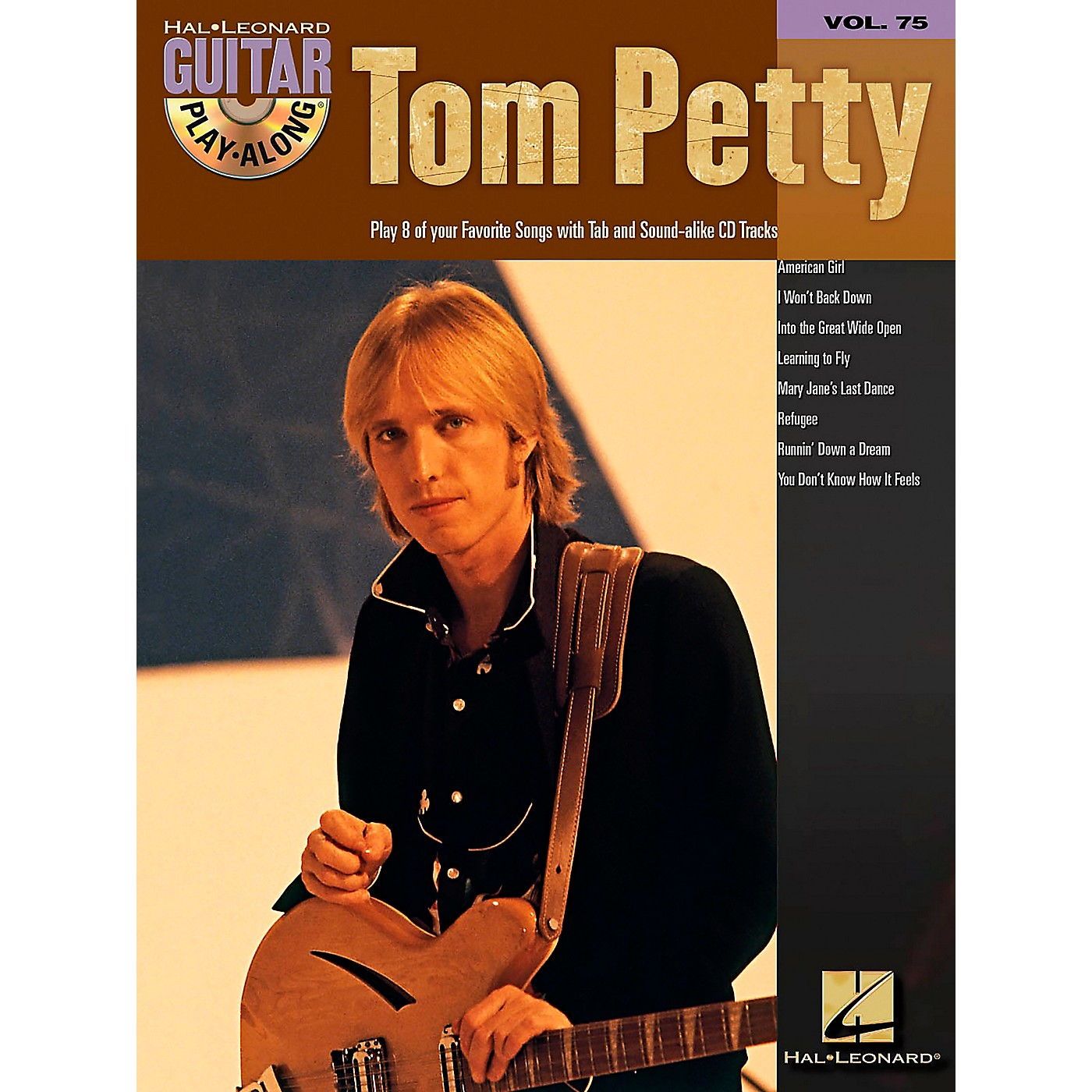 Hal Leonard Tom Petty Guitar Play-Along Series (Book/Online Audio) thumbnail