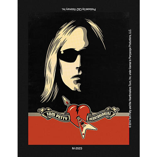 C&D Visionary Tom Petty Magnet thumbnail