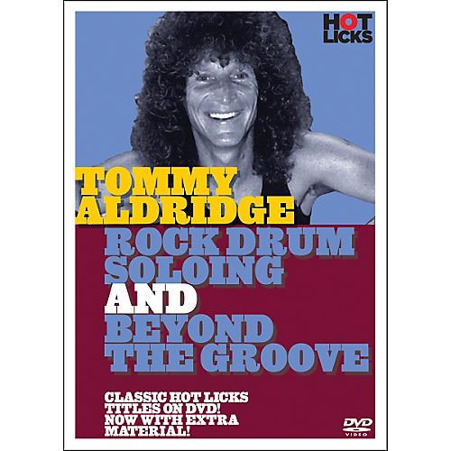 Music Sales Tommy Aldridge Rock Drum Solos DVD thumbnail