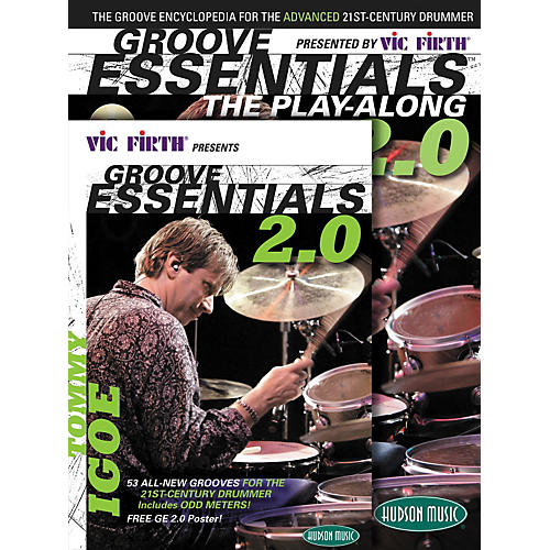 Hudson Music Tommy Igoe Groove Essentials Book/DVD/CD Play-Along Combo Pack 2.0-thumbnail