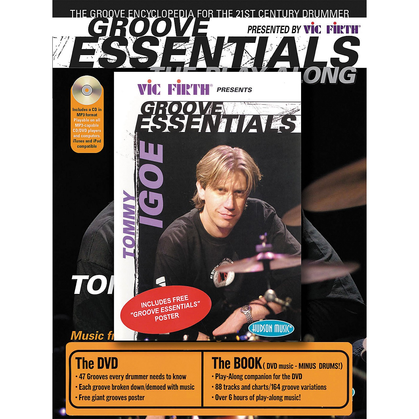 Hudson Music Tommy Igoe Groove Essentials (Book/Online Audio/DVD Combo Pack) thumbnail